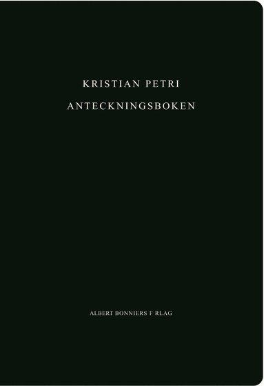 bokomslag Anteckningsboken