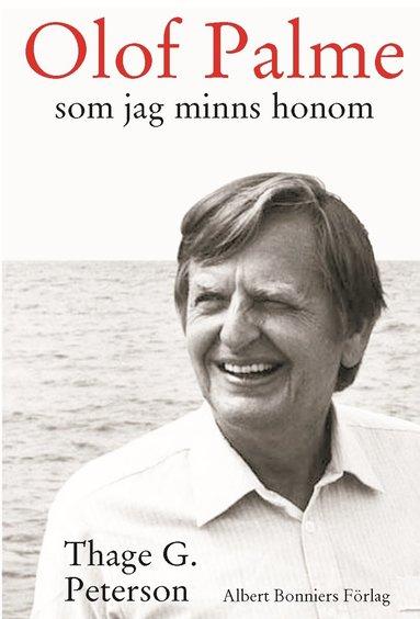 bokomslag Olof Palme som jag minns honom