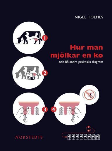 bokomslag Hur man mjölkar en ko : och 88 andra praktiska diagram