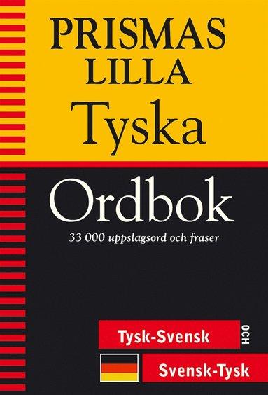 bokomslag Prismas lilla tyska ordbok : Tysk-svensk/Svensk-tysk