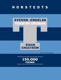 bokomslag Svensk-engelsk teknisk ordbok