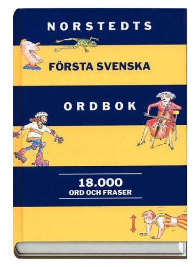 bokomslag Norstedts första svenska ordbok