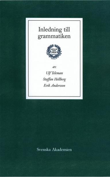 bokomslag Inledning till grammatiken