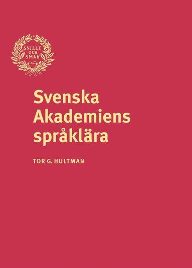 bokomslag Svenska Akademiens språklära