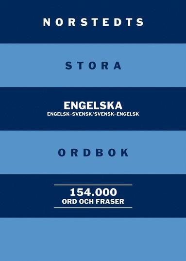 bokomslag Norstedts stora engelska ordbok - Engelsk-svensk/Svensk-engelsk