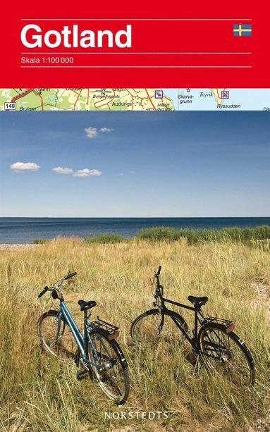 bokomslag Gotland Karta : 1:100000