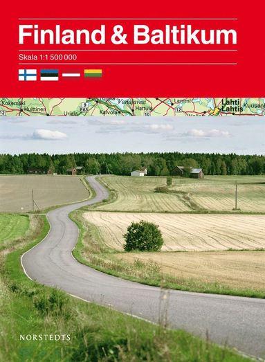 bokomslag Finland och Baltikum 1:1,5 milj