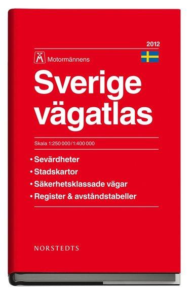 bokomslag Sverige Vägatlas 2012 Motormännen : 1:250000-:400000