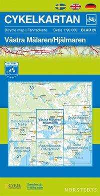 Cykelkartan Blad 26 Västra Mälaren/Hjälmaren : 1:90000
