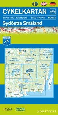 Cykelkartan Blad 8 Sydöstra Småland : 1:90000