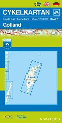 bokomslag Cykelkartan Blad 11 Gotland : 1:100000