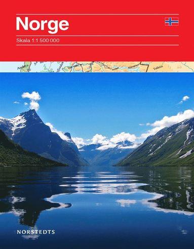 bokomslag Norge vägkarta : 1:1,5m