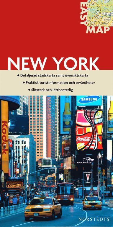 bokomslag New York EasyMap stadskarta : 1:19000