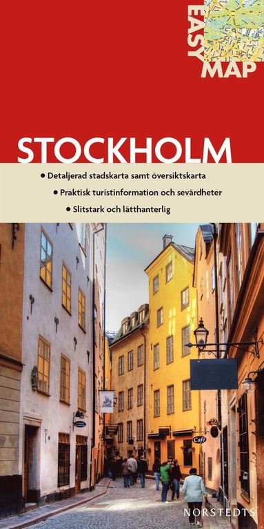 bokomslag Stockholm EasyMap stadskarta : 1:17500