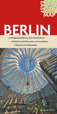 bokomslag Berlin EasyMap stadskarta : 1:17500