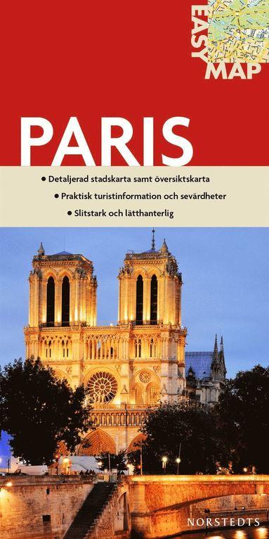 bokomslag Paris EasyMap stadskarta : 1:17500
