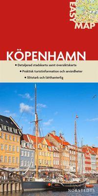 bokomslag Köpenhamn EasyMap stadskarta : 1:13000