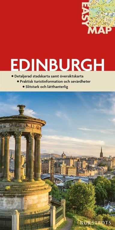bokomslag Edinburgh EasyMap stadskarta : 1:15500