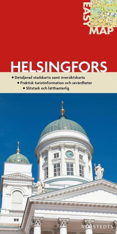 bokomslag Helsingfors EasyMap stadskarta : 1:14750