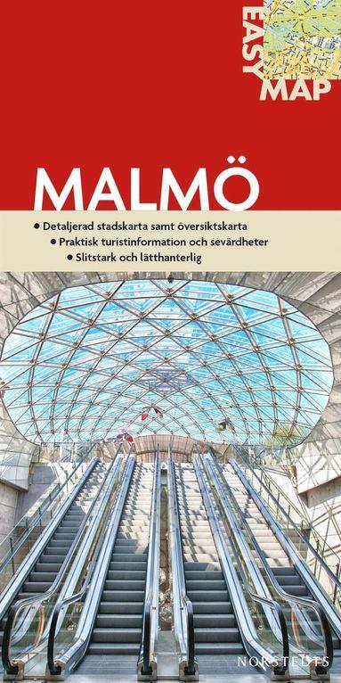 bokomslag Malmö EasyMap stadskarta : 1:14500