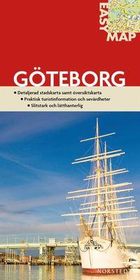 bokomslag Göteborg EasyMap stadskarta : 1:6000