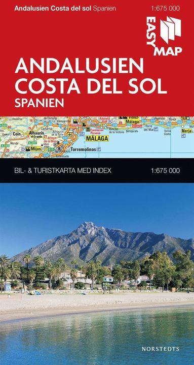 bokomslag Andalusien Costa del Sol EasyMap