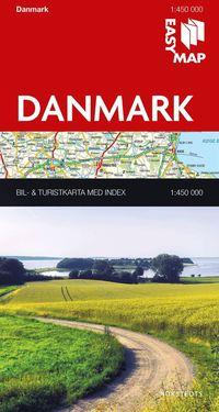 bokomslag Danmark EasyMap