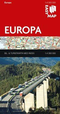 bokomslag Europa EasyMap