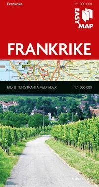 bokomslag Frankrike EasyMap