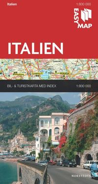 bokomslag Italien EasyMap