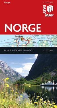 bokomslag Norge EasyMap