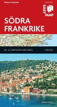 bokomslag Södra Frankrike EasyMap