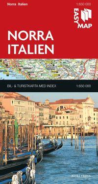 bokomslag Norra Italien EasyMap