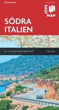 bokomslag Södra Italien EasyMap