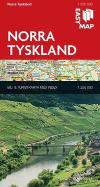 bokomslag Norra Tyskland EasyMap