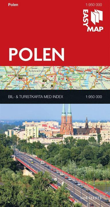 bokomslag Polen EasyMap : 1:950000