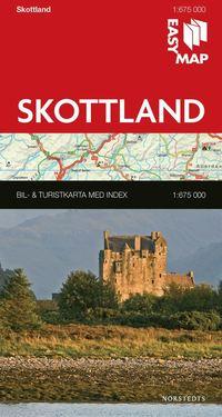 bokomslag Skottland EasyMap
