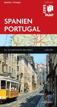 bokomslag Spanien Portugal EasyMap
