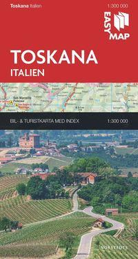 bokomslag Toscana EasyMap : 1:300000