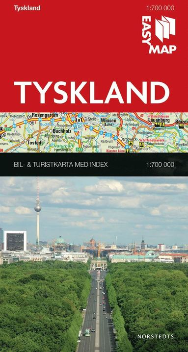 bokomslag Tyskland EasyMap : 1:700000