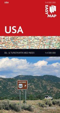 bokomslag USA EasyMap