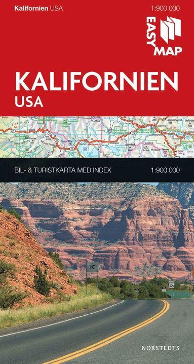 bokomslag Kalifornien EasyMap : 1:900000