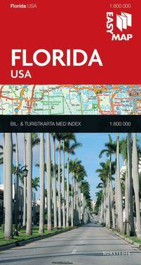 bokomslag Florida EasyMap