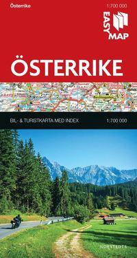 bokomslag Österrike EasyMap