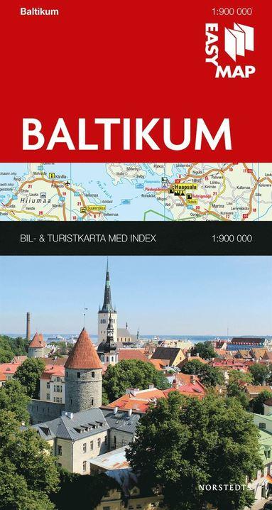 bokomslag Baltikum EasyMap : 1:900000