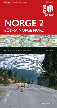 bokomslag Södra Norge nord EasyMap