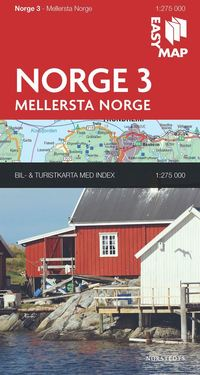 bokomslag Mellersta Norge EasyMap