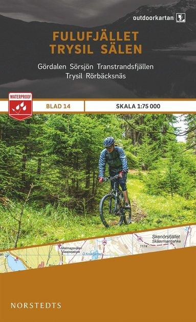 bokomslag Outdoorkartan Fulufjället Trysil Sälen : Blad 14 skala 1:75000