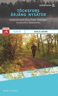 bokomslag Outdoorkartan Töcksfors Årjäng Nysäter : Blad 16 skala 1:50000