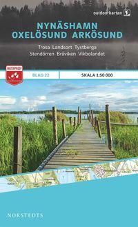 bokomslag Outdoorkartan Nynäshamn Oxelösund Arkösund : Blad 22 skala 1:50000